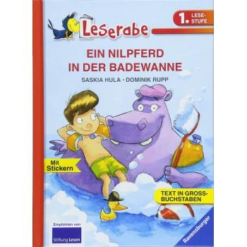 Un hipopótamo en el baño