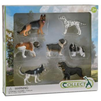 Set 7 piezas Perros