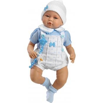 Iker Bebé sentado con ropa...