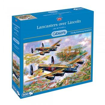 Bombarderos Lancaster 500p.