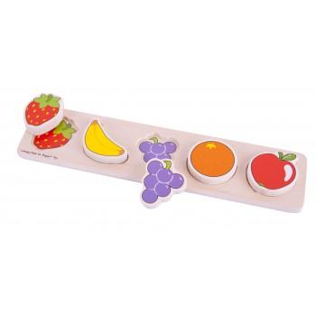 Chunky Lift & Match Frutas