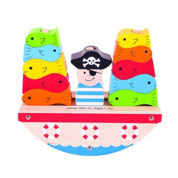 Bote de piratas de balance