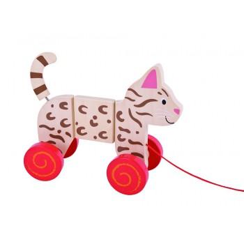 Gato articulado de jalar