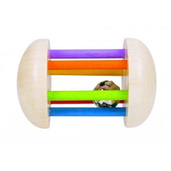 Roller arcoiris con cascabel