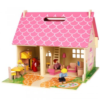 Casa de campo portátil