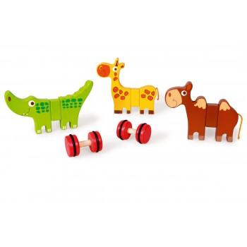 Animales magnéticos con ruedas