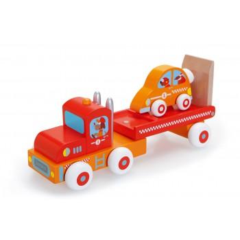 Pit Stop Camión con autito