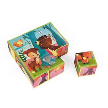 Kubkid 9 cubos Animales del...