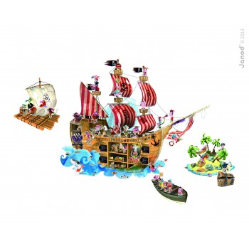 Magneti stick Piratas