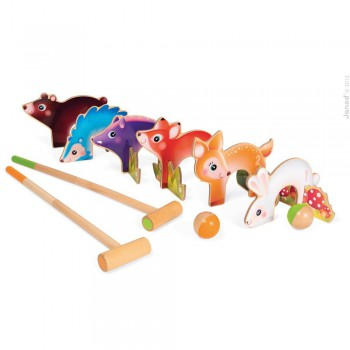 Croquet Animales del Bosque