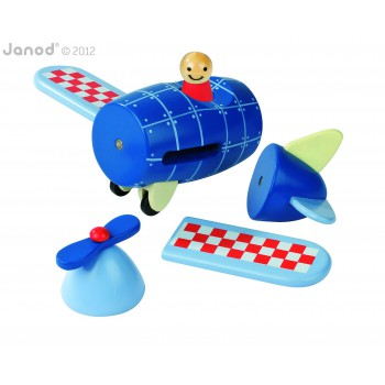 Avión magnético