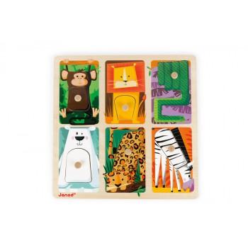 Puzzle texturas Animales...