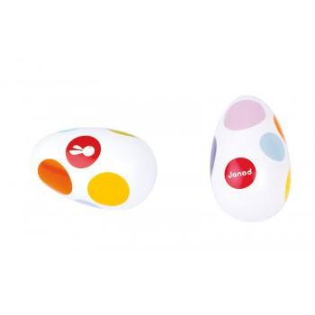 Maraca Huevo Confetti (unidad)