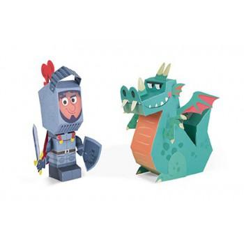 Personajes de papel para niños