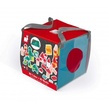 Kubix - 80 cubos de colores