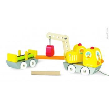 Camión Grúa de troncos