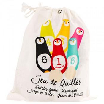 Juego de Bolos Pingüinos