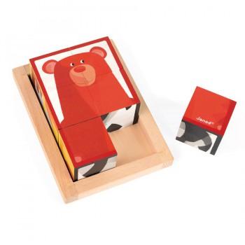 Caja de 6 cubos Bosque Zigolo