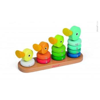 Familia de Patos de encaje