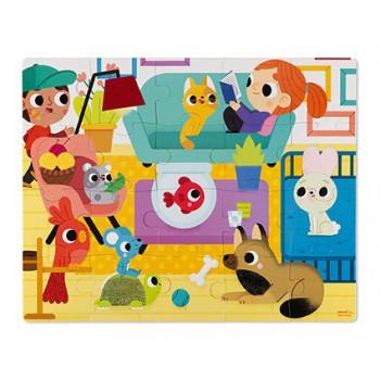 Puzzle táctil Animales...