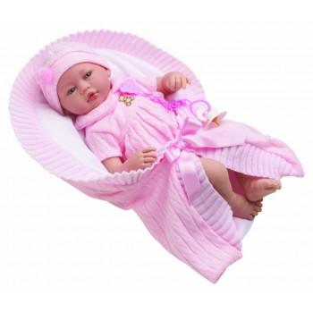 Vera Bebé con traje rosado...