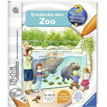 CA R00675 Tiptoi Zoológico