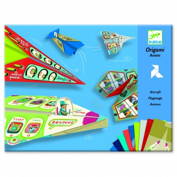 Papel de Origami Aviones