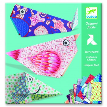 Papel de Origami Animales...