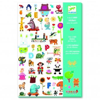 1000 Stickers para niños