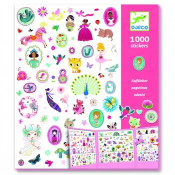 1000 stickers para chicas