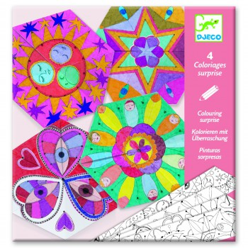 Papel para colorear Mandalas 1