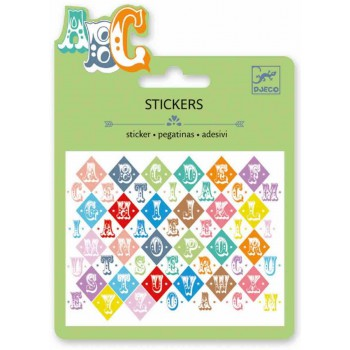 Pequeños Stickers Letras...