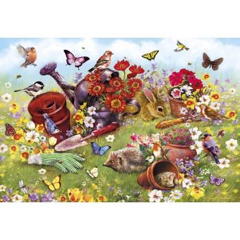 Animalitos en el jardín (In...