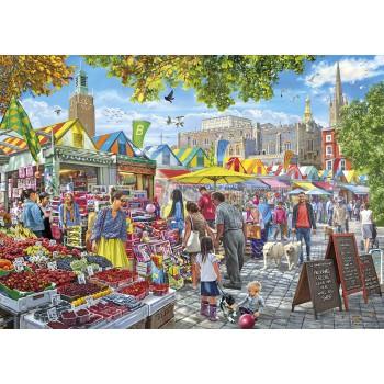 Día de mercado en Norwich...