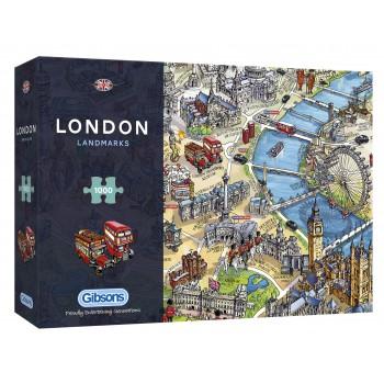 Atracciones de Londres 1000p.