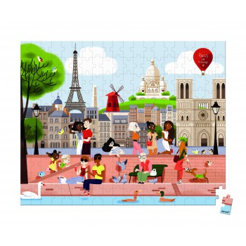 Paris Rompecabezas 200 piezas