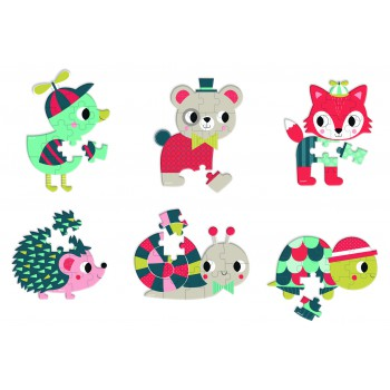Mini Puzzle Baby Forest...